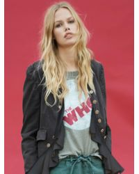 Free People | Green The Who Tee | Lyst