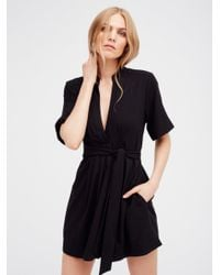 Free People | Black There You Go Solid Mini | Lyst