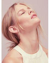 Free People - Multicolor Threader Hoop Earring - Lyst