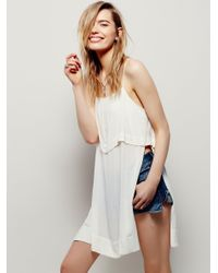Free People | Blue Womens True Colors S/l Maxi | Lyst