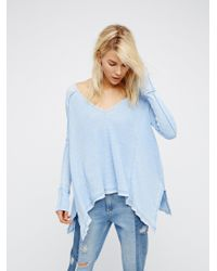 Free People | Blue We The Free Pacific Thermal | Lyst