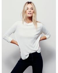 Free People | White We The Free Wander Tee | Lyst