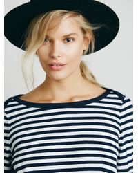 Free People | Blue We The Free Womens Wtf Tea Time Tee | Lyst