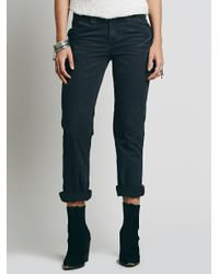 Free People - Black Wyatt Carpenter Pant - Lyst