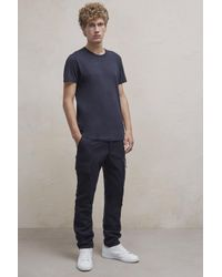 French Connection - Blue Mr Melton Trousers for Men - Lyst