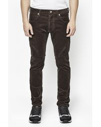 French Connection - Brown Corduroy Trousers for Men - Lyst