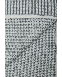 French Connection - Gray Joelle Scarf - Lyst
