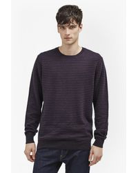 French Connection - Multicolor Minette Micro Knits Jumper for Men - Lyst