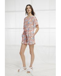 b022fe4f2f6 French Connection. Women s Cari Frill Short Romper
