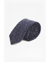 French Connection   Blue Remi Rain Dash Silk Tie for Men   Lyst