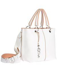 Tod's - White Leather Shoulder Bag Joy - Lyst