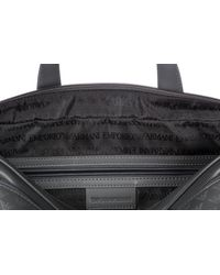 Emporio Armani - Gray Bag Handbag Tracolla In Pelle for Men - Lyst