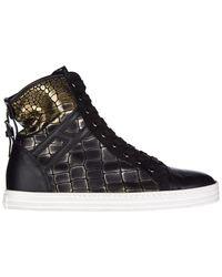 940e92ec4fd Hogan Rebel Shoes High Top Leather Trainers Sneakers R182 Allacciato ...