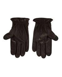 Polo Ralph Lauren - Brown Gants en cuir for Men - Lyst