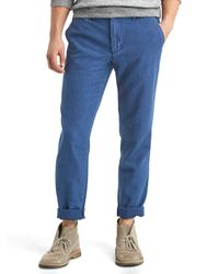 Gap | Blue Vintage Indigo Slim Fit Pants for Men | Lyst