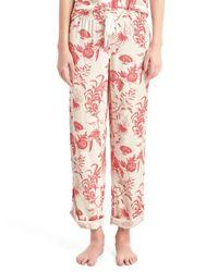 Gap | Red Lodge Flannel Print Roll-tab Sleep Pants | Lyst