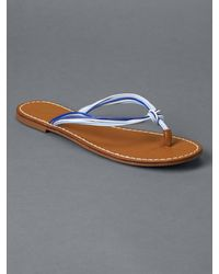 Gap - Blue Multi-rope Flip Flops - Lyst