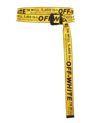 2f0c03882ddb Off-White c o Virgil Abloh. Women s Classic Industrial Belt Yellow black