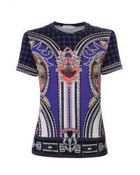 Mary Katrantzou | Blue Iven T-shirt Vice Sapphire | Lyst