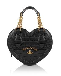 Vivienne Westwood | Dorset 7272 Heart Bag Black | Lyst