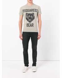 DSquared² - Multicolor Printed T-shirt for Men - Lyst