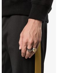 Alexander McQueen - Multicolor Skull Ring for Men - Lyst