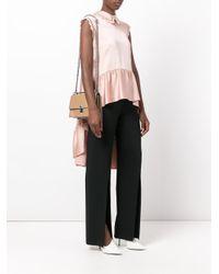 Fendi - Multicolor Kan I Leather Crossbody Bag - Lyst