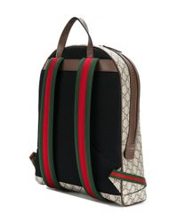 Gucci - Multicolor Printed Canvas Backpack - Lyst