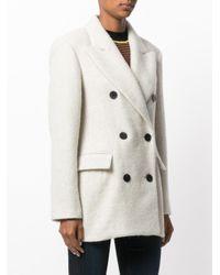 Isabel Marant - Multicolor Eley Wool And Alpaca Coat - Lyst