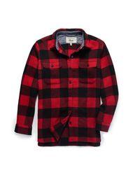 G.H. Bass & Co.   Multicolor Plaid Shirt Jacket   Lyst