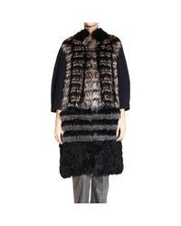 Dior   Gray Fur Coats   Lyst