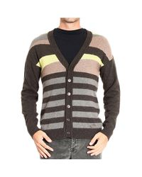 Just Cavalli | Brown Roberto Cavalli Men's Sweater for Men | Lyst