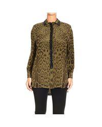 Roberto Cavalli | Green Women's Shirt | Lyst