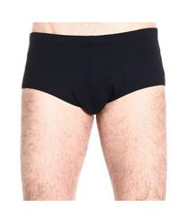 Emporio Armani | Black Giorgio Armani Men's Swimwear for Men | Lyst