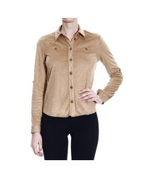 Patrizia Pepe | Natural Women's Shirt | Lyst