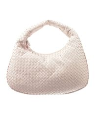 Bottega Veneta | Natural Shoulder Bag Veneta Medium Woven | Lyst