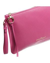 Ferragamo - Pink Women's Handbag - Lyst