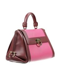 Ferragamo - Pink Tote Bags - Lyst