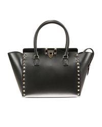 Valentino | Black Handbag Woman Valentino | Lyst