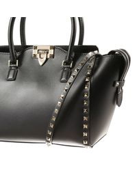Valentino   Black Handbag Woman Valentino   Lyst