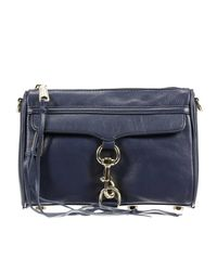 Rebecca Minkoff | Blue Clutch Handbag Woman | Lyst