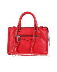 Rebecca Minkoff - Red Handbag Woman - Lyst