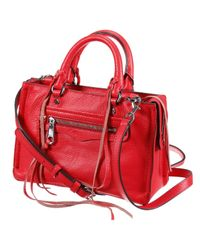 Rebecca Minkoff - Red Handbag Woman - Lyst