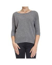 Cruciani | Gray Sweater Woman | Lyst