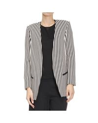 Elisabetta Franchi | Black Blazer Suit Jacket Woman | Lyst