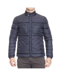 Peuterey - Blue Jackets Man for Men - Lyst