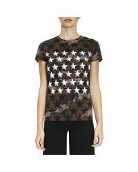 Valentino   Green T-shirt Women   Lyst