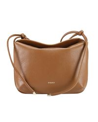 Pinko | Brown Shoulder Bag Handbag Women | Lyst