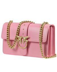 Pinko - Pink Clutch Handbag Women - Lyst