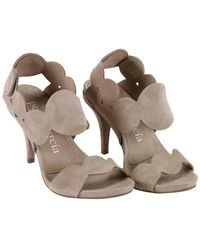 Pedro Garcia - Natural Heeled Sandals Shoes Women - Lyst
